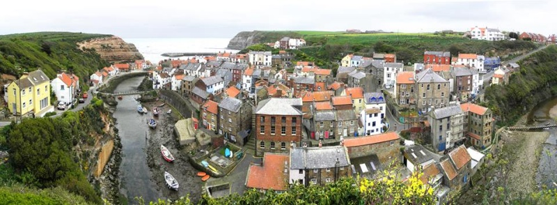 Panorama of Staithes 13226910