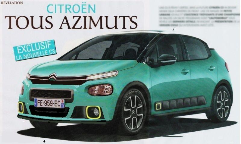 2016 - [SUJET OFFICIEL] Citroën C3 III [B618] Sans_t14