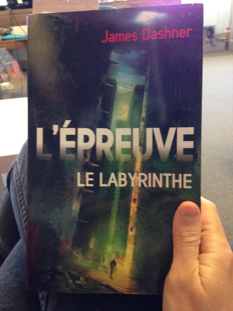 Le Labyrinthe : La Trilogie Img_2920
