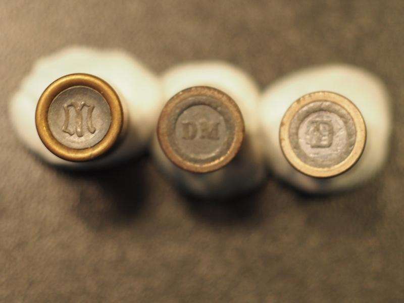 Question sur les culots d'ogives d'époque d'un P08 ERFURT 1913 d'un ami P1013111