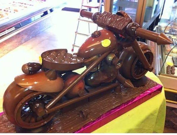 Harley Davidson en chocolat  Screen17