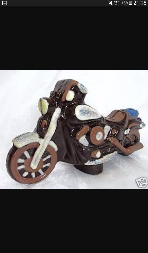 Harley Davidson en chocolat  Screen21