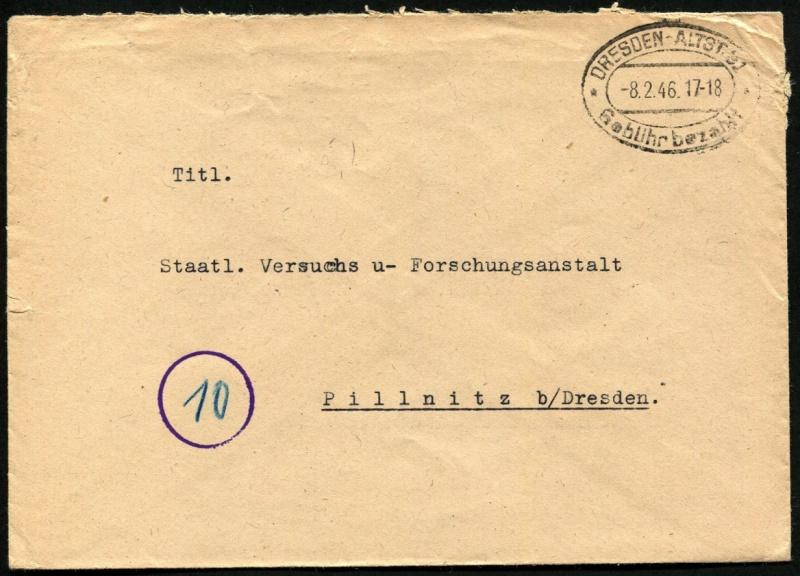 Ostsachsen (OPD Dresden) -Sowjetische Besatzungszone- - Seite 10 Gebyhr10