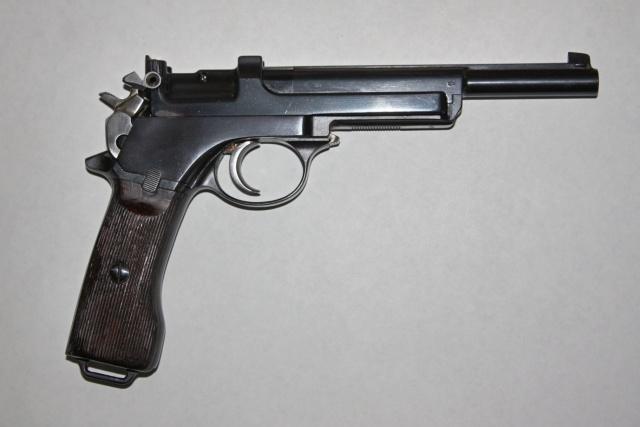 Pistolet Mannlicher M. 1905 Argentin Mannli11