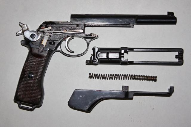 Pistolet Mannlicher M. 1905 Argentin Mannli13