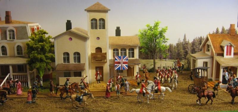 Amerikanischer Unabhängigkeits-Krieg 1775 - 1783 mit 7 cm Figuren 01_fri10