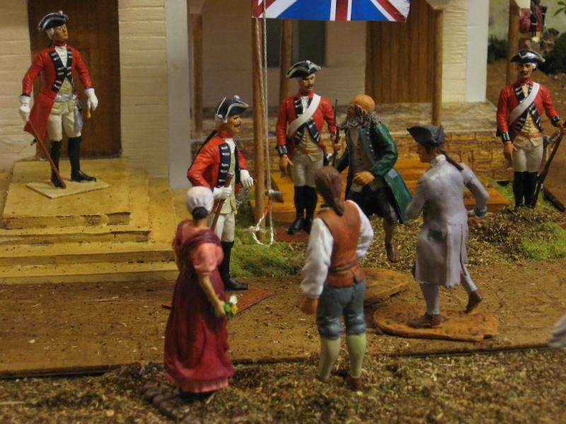 Amerikanischer Unabhängigkeits-Krieg 1775 - 1783 mit 7 cm Figuren 05_auf10