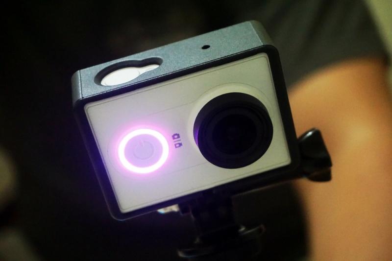 Stato colore batteria Xiaomi Yi Action Camera 257bte10