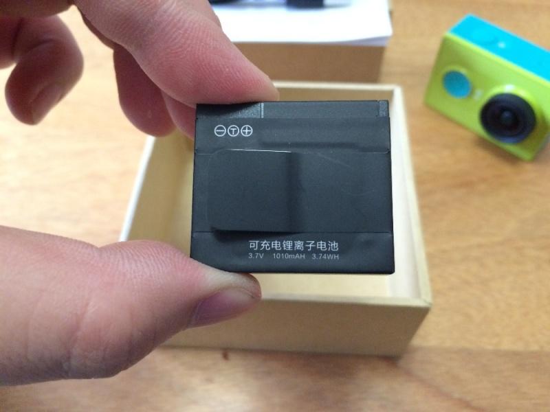 Istruzioni batteria Xiaomi Yi Action Camera Newins11