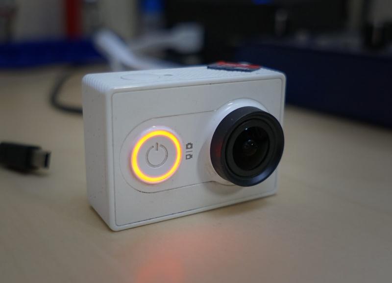 Stato colore batteria Xiaomi Yi Action Camera Xiaomi13