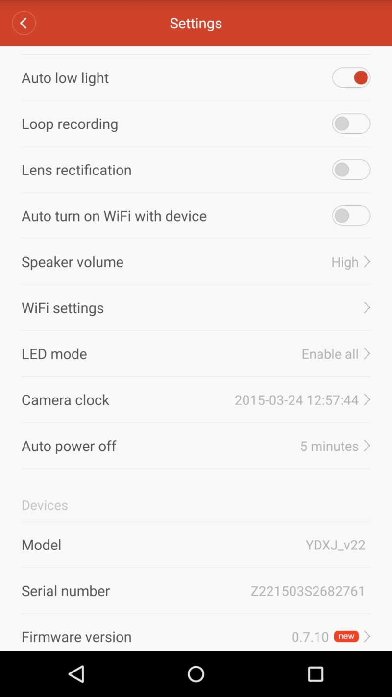 Download applicazione Xiaomi Yi Action Camera Xiaomi14