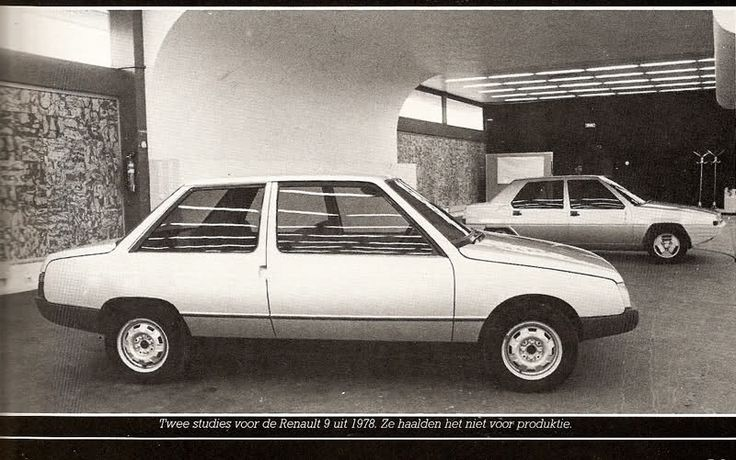 Prototype Renault 9 de 1978 par Marcello Gandini A0dc4f10