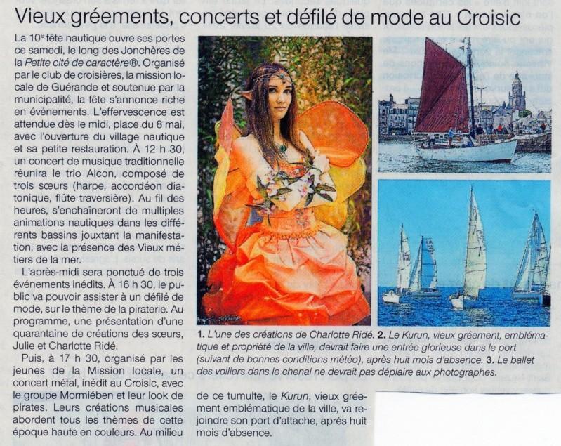 [Activité hors Marine des ports] LE CROISIC Port, Traict, Côte Sauvage... - Page 8 Ouest-16