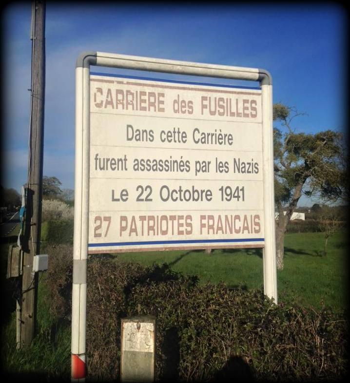 Carrière des fusillés - Chateaubriand 11140010