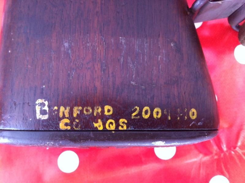 Inscription sur crosse Garand (et du coup présentation de mon Garand) M110
