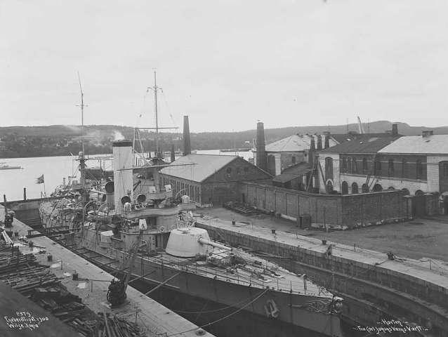 Marine norvégienne  Harald11