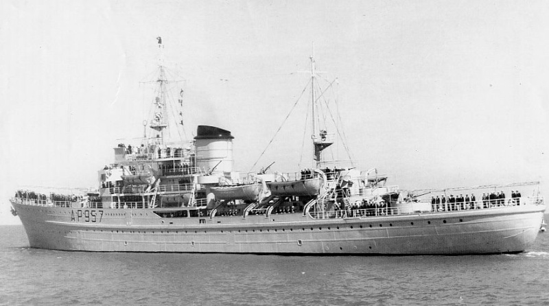 Marine Belge  Kamina10