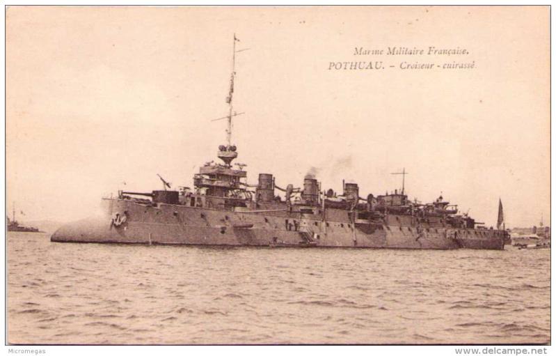Croiseurs français  - Page 3 Pothua11