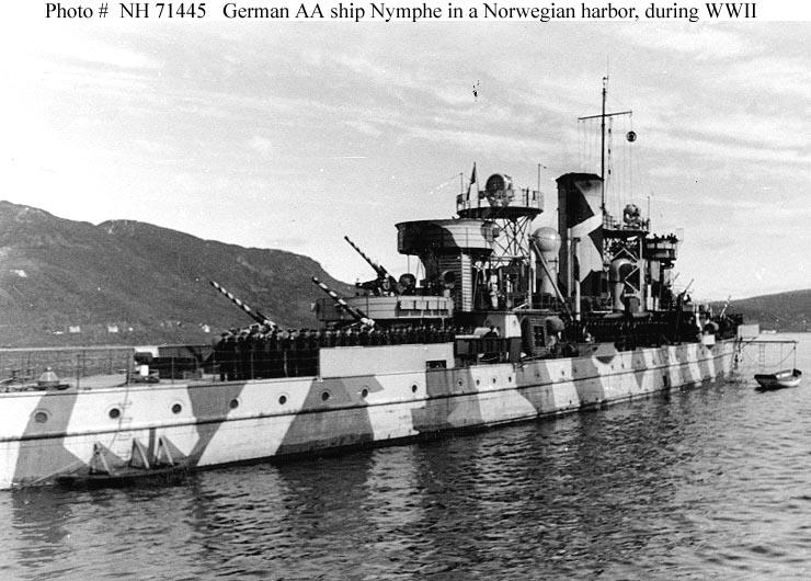 Marine norvégienne  Torden11