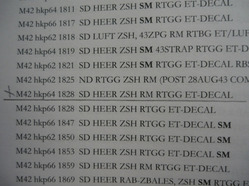 M42 Heer HKP (complet) - 1 insigne  P1170512