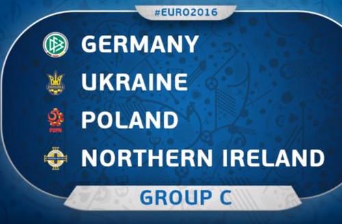 EURO 2016 France - Group C Groupc10