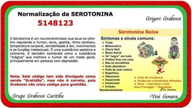 [GG] Série numérique pour la normalisation de la sérotonine Normal10
