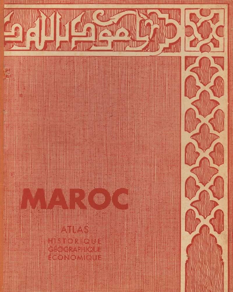 MAROC, Atlas historique, géographique, économique. 1935 Fedala10