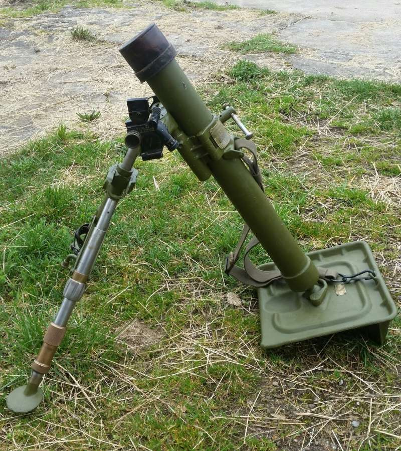 Le mortier de 60 mm modèle 1935  20160416