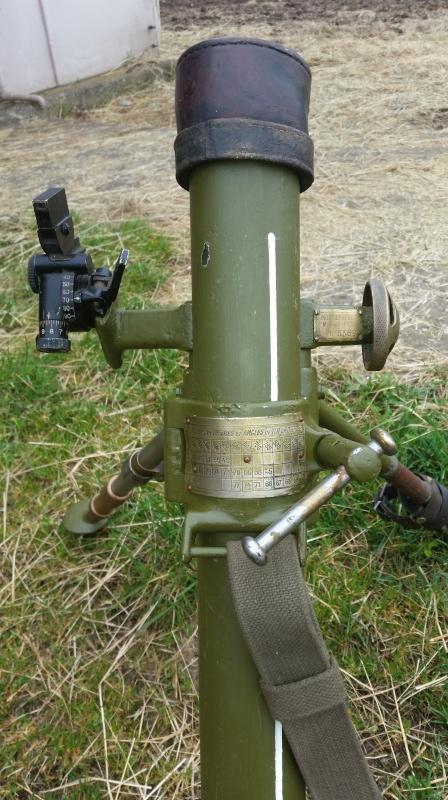 Le mortier de 60 mm modèle 1935  20160417