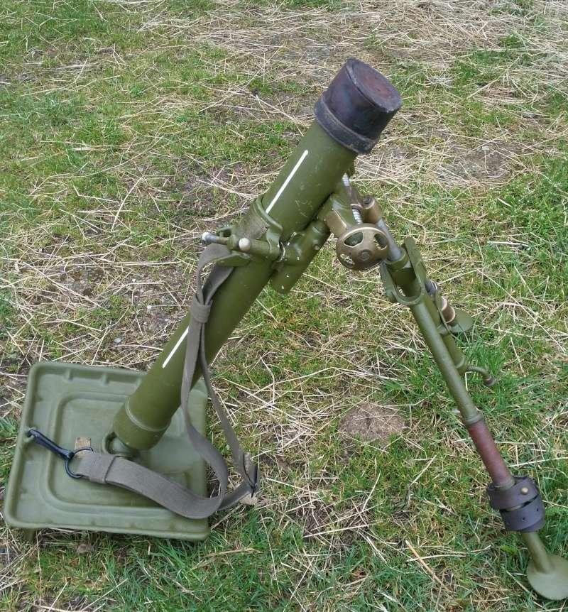 Le mortier de 60 mm modèle 1935  20160420