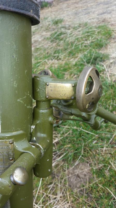 Le mortier de 60 mm modèle 1935  20160421