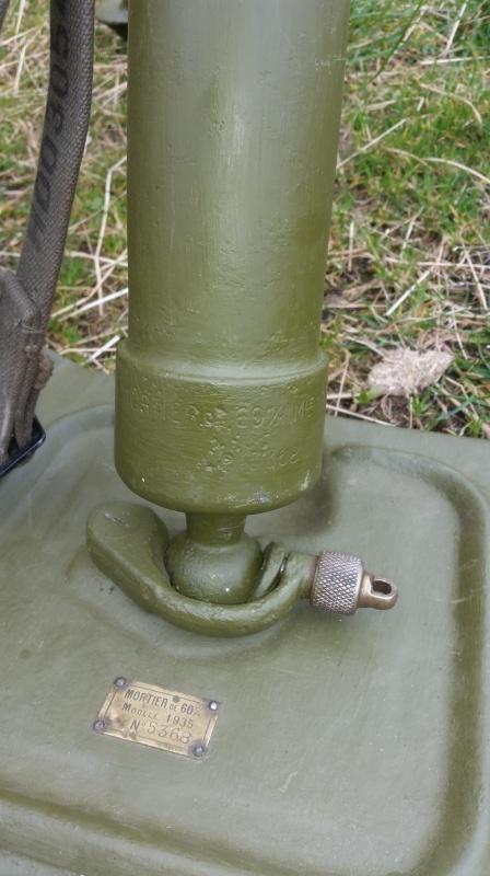 Le mortier de 60 mm modèle 1935  20160422