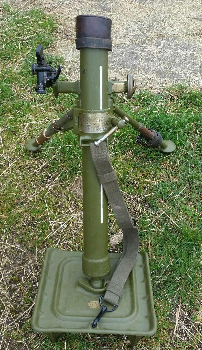 Le mortier de 60 mm modèle 1935  20160424