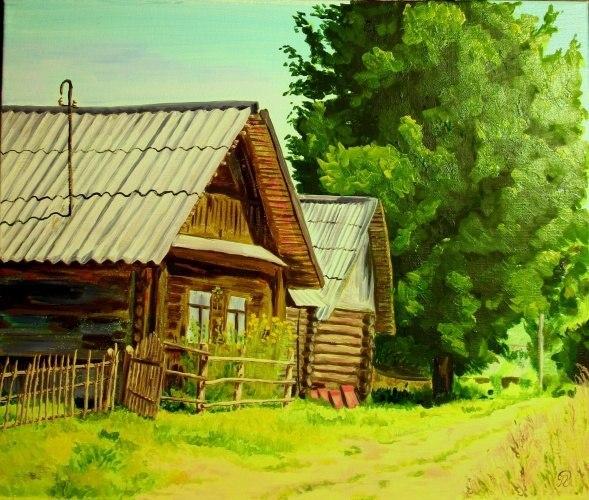 И.Власюк Согнулся дом,присел на камушек 9pv-wc10