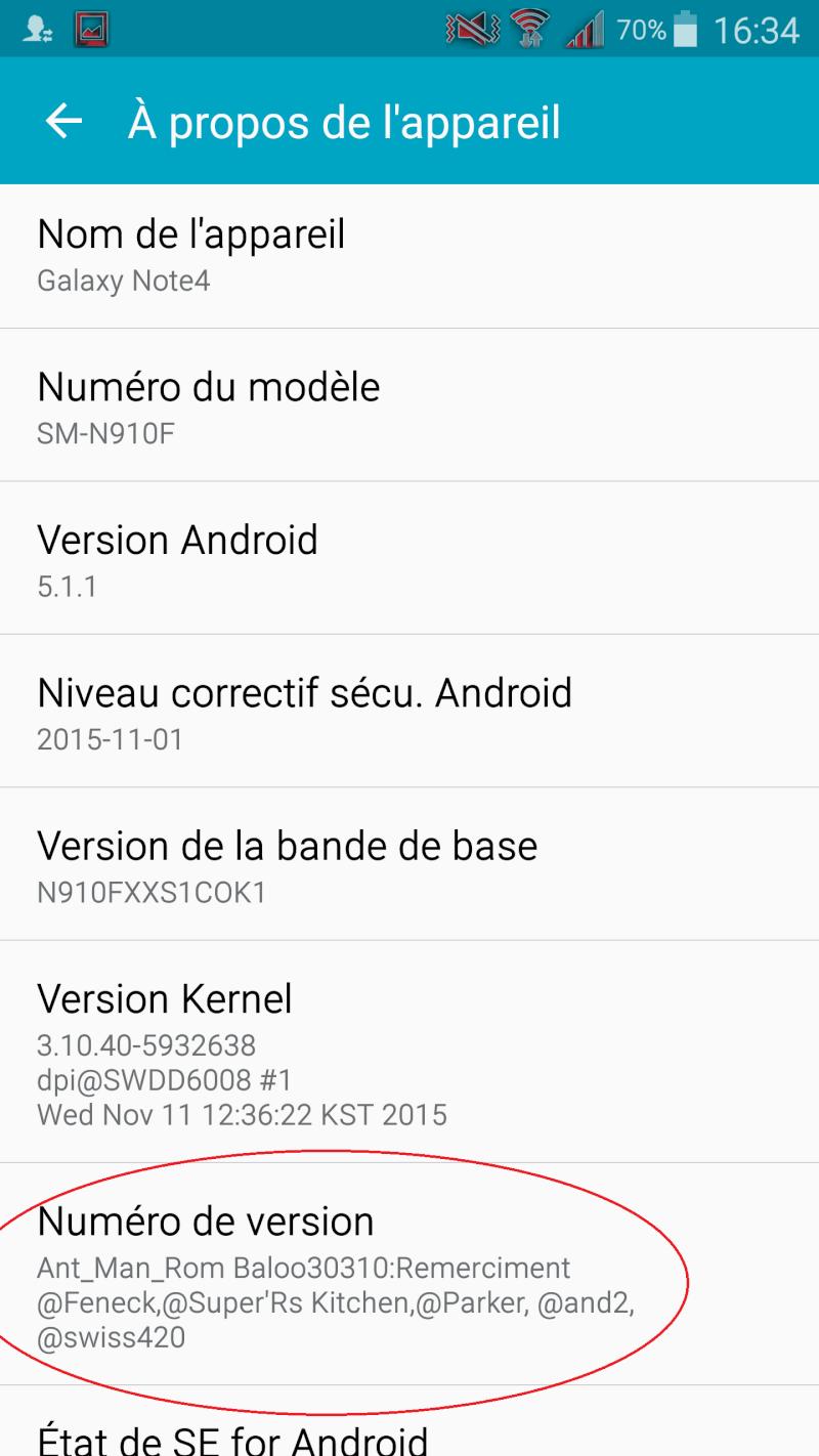 Rom Ant_Man (BALOO30310) N910F  / N910FXXS1COK1 (DEODEX) 1310