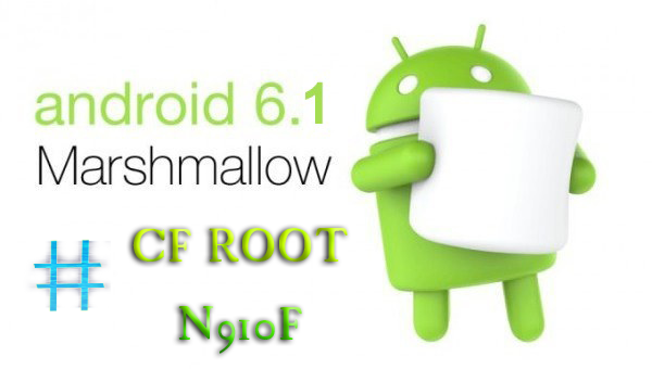 Rooter son GALAXY Note 4 N910F sous Android  6.0.1 (CFROOT-CHAINFIRE) Androi10