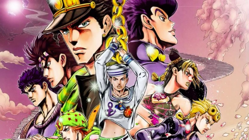 Jojo's Bizarre Adventure: un manga intemporel Jojos-10