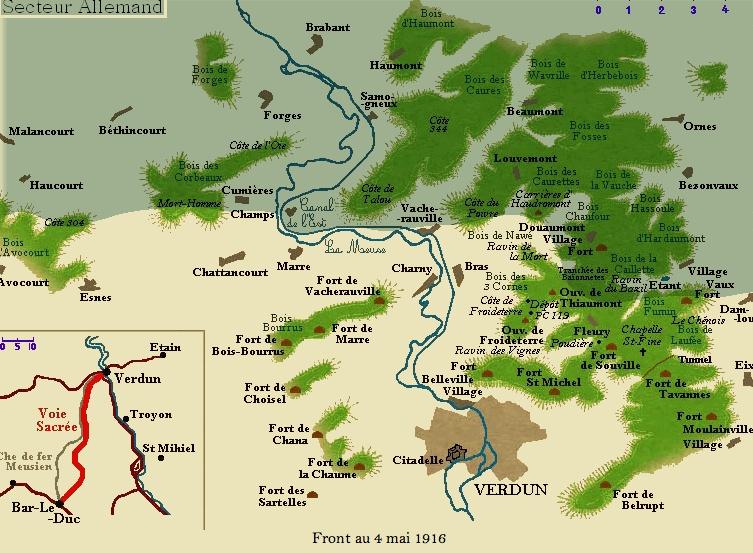 C'ETAIT IL Y A 100 ANS au jour le jour (ou à peu près) - Page 4 Verdun11