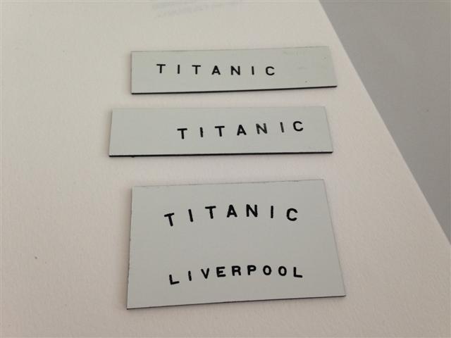 titanic - Titanic in scala 1:144 Ultime50