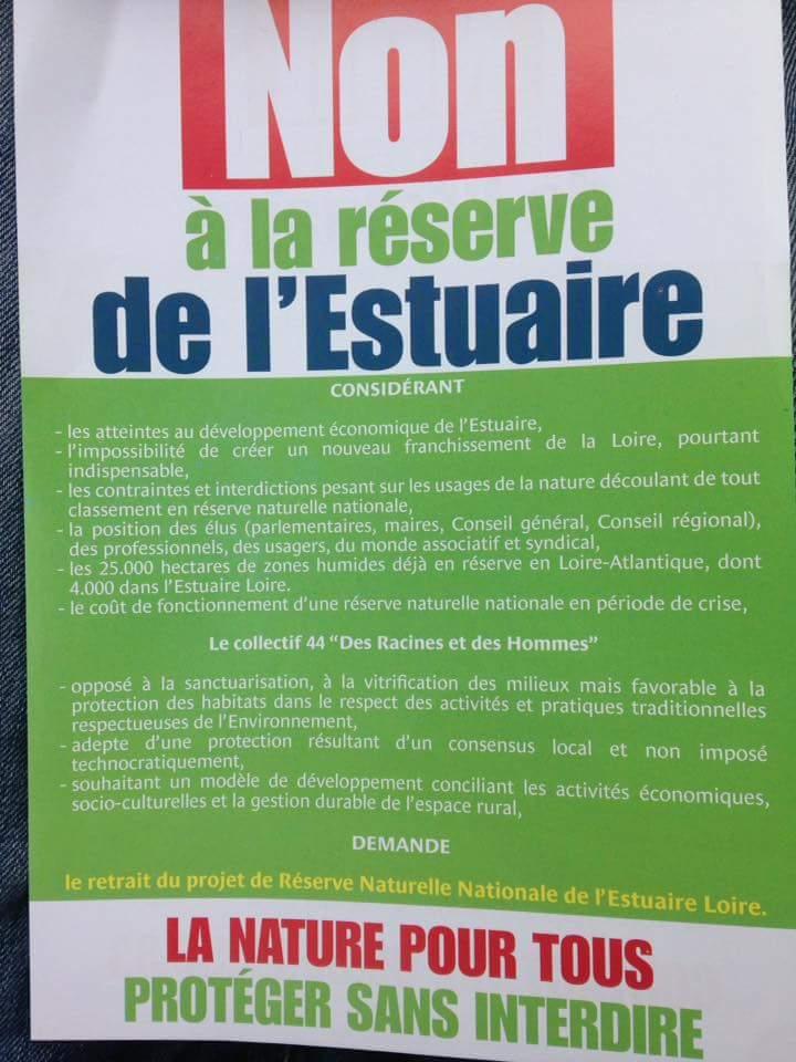 La basse Loire Nord en danger 13237810