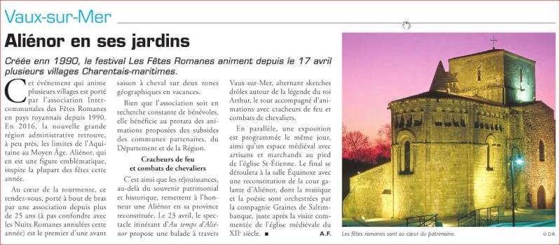 Fêtes Romanes en Pays Royannais Vaux_s10