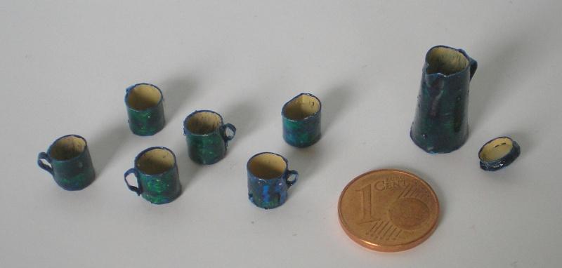 Möbel, Geschirr und ähnliche Kleinteile zur Figurengröße 7 cm 012h1_10