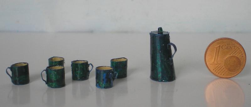 Möbel, Geschirr und ähnliche Kleinteile zur Figurengröße 7 cm 012h2_10