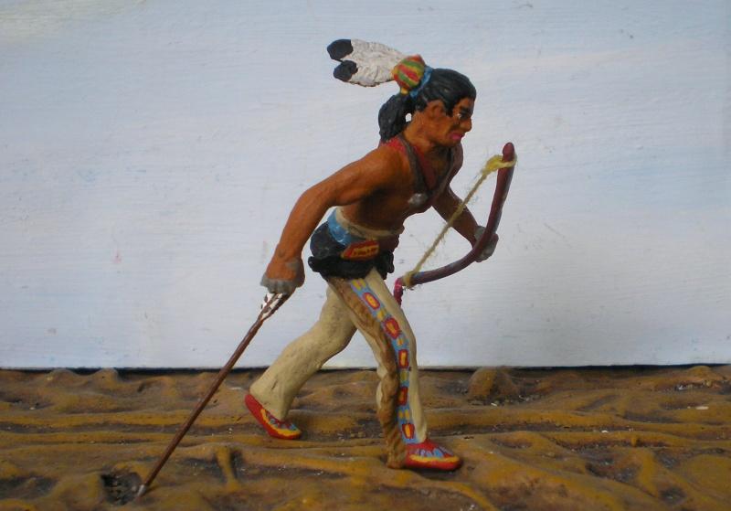 Bemalungen, Umbauten, Modellierungen – neue Indianer für meine Dioramen - Seite 6 108h2b11
