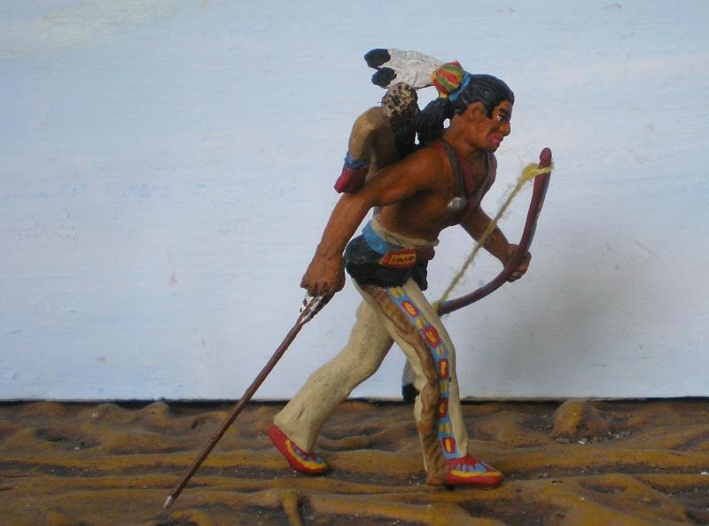 Bemalungen, Umbauten, Modellierungen – neue Indianer für meine Dioramen - Seite 6 108i2e10