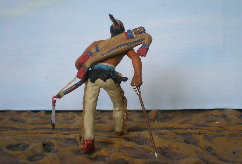 Bemalungen, Umbauten, Modellierungen – neue Indianer für meine Dioramen - Seite 6 108i2g10