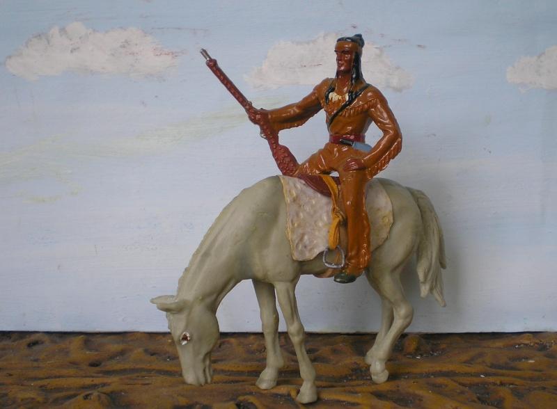 Bemalungen, Umbauten, Modellierungen – neue Indianer für meine Dioramen - Seite 6 202e3b13