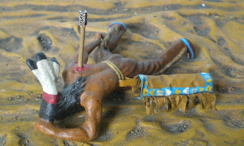 Bemalungen, Umbauten, Modellierungen – neue Indianer für meine Dioramen - Seite 6 207c5a10