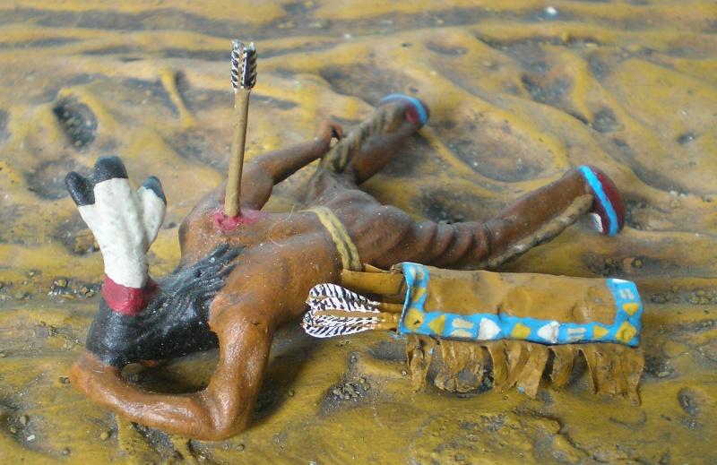 Bemalungen, Umbauten, Modellierungen – neue Indianer für meine Dioramen - Seite 6 207c5b10