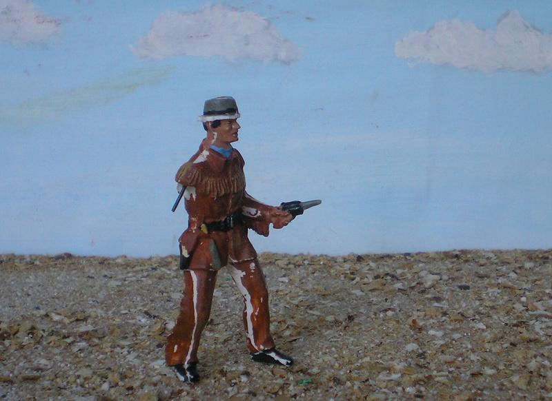 Bemalungen, Umbauten, Modellierungen - neue Cowboys für meine Dioramen - Seite 2 227d3a10